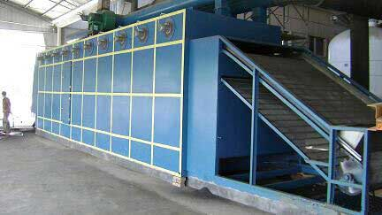 DWF Series Chili Mesh Belt Dryer