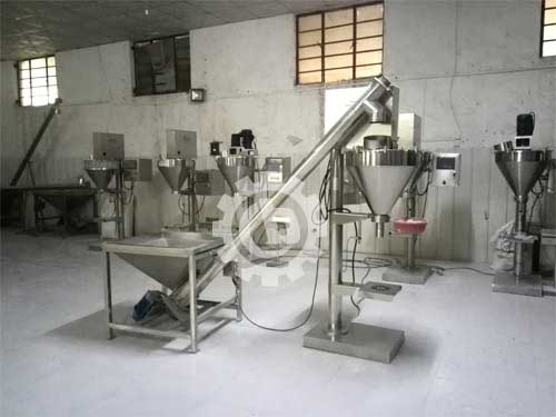 Semi-Automatic Chili Powder Packing Machine