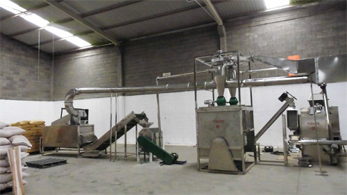 Automatic 200kg/h Chili Powder Production Line