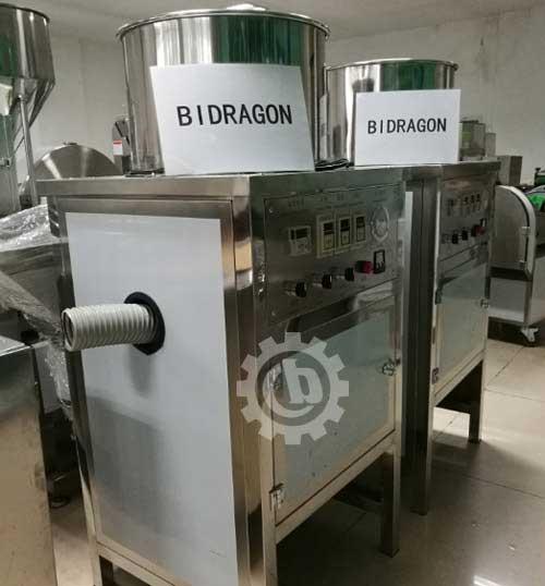Two Sets Garlic Peeling Machine to Saudi Arabia