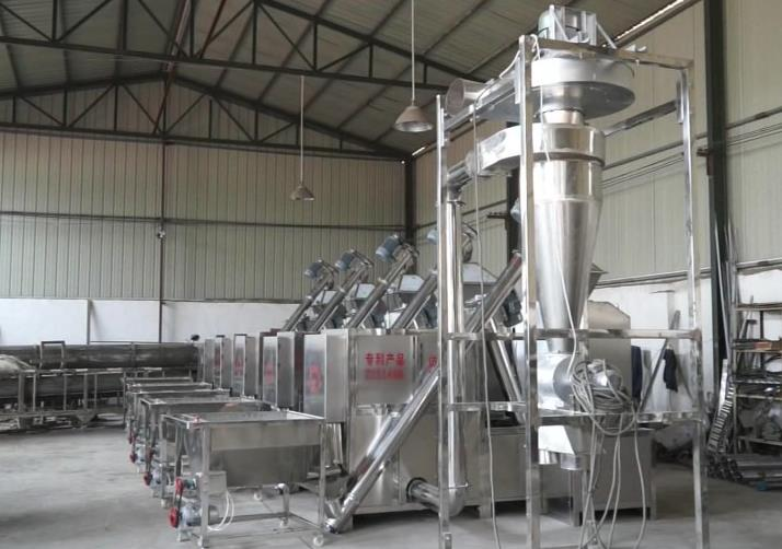 Full Chili Powder Production Line