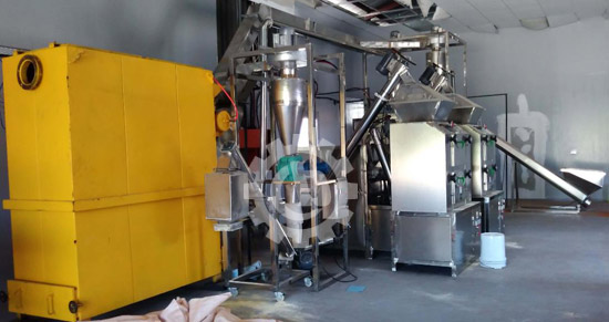 South Africa Chili Powder Production Line In Installation