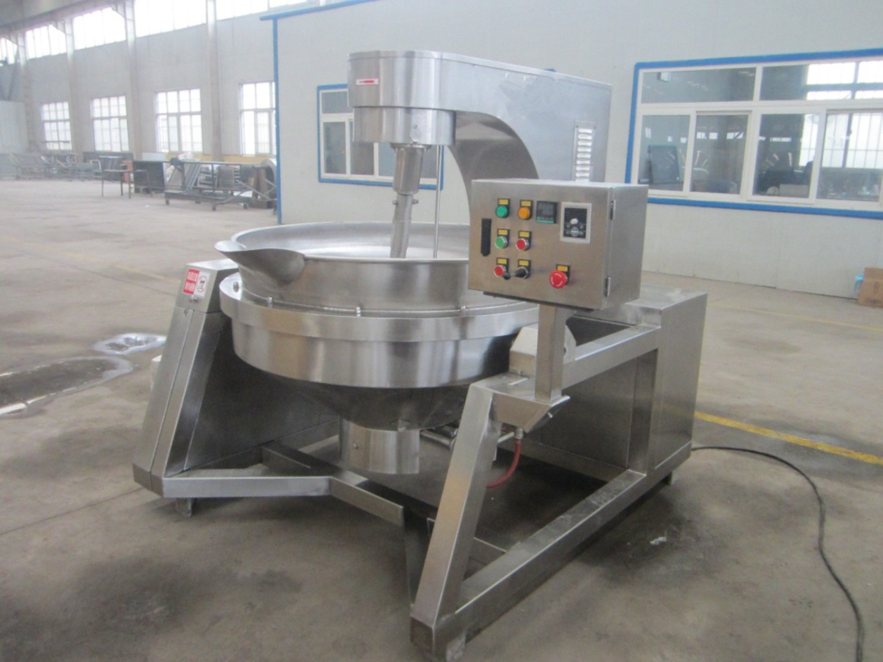Oil Planetary Stirring Jacketed Kettle with Agitator